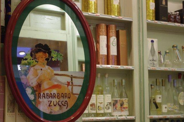 Tienda de vinos en Milán