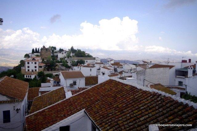 Vista de la fortaleza de Comares