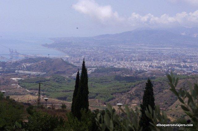 Vistas desde los Montes de Málaga