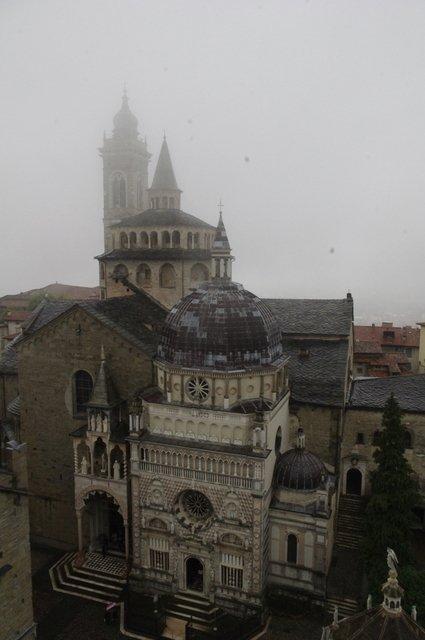 Bérgamo desde la Piazza Vechia