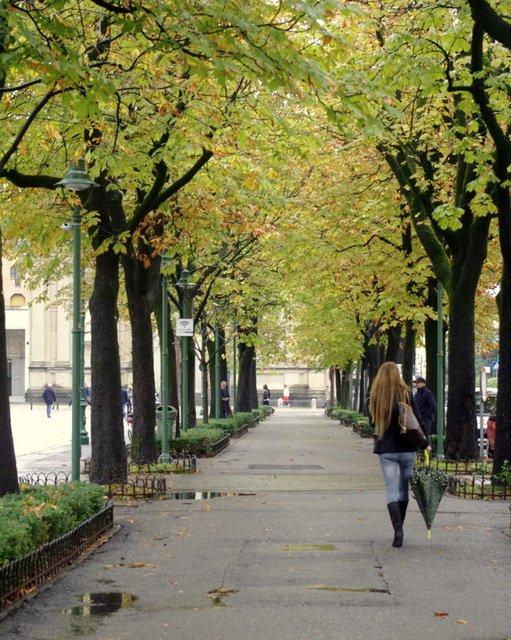 Paseando por las calles de Bérgamo