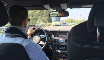 Conduciendo hacia Milan