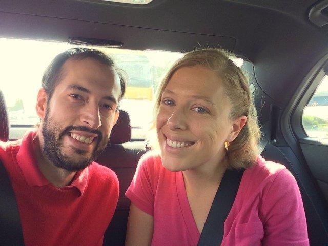 Pedro y Abby hacia Milán