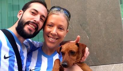 Dino, cómo adoptar un perro en Málaga
