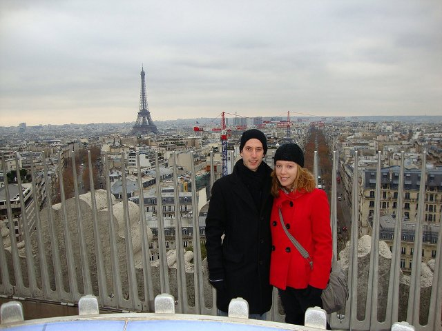 Abby and Pedro in Paris