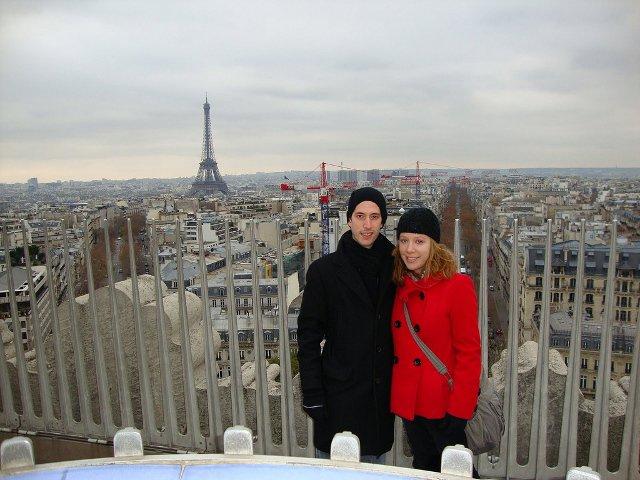 Abby y Pedro en París