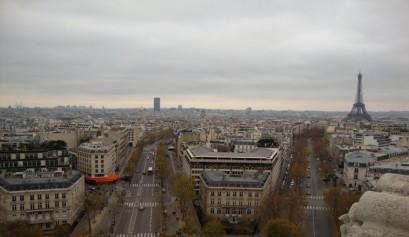 Vistas desde El Arco del Triunfo