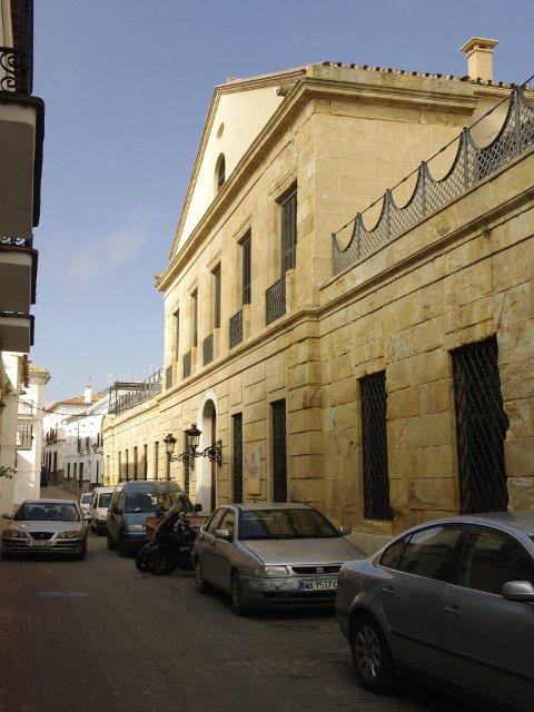 El conocido Balneario de Carratraca, Málaga