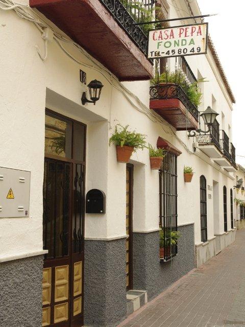 La famosa Casa Pepa en Carratraca, Málaga