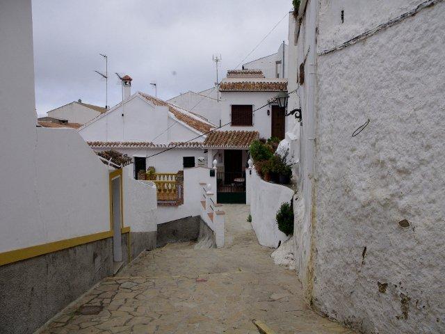 Los tejados en Carratraca, Málaga