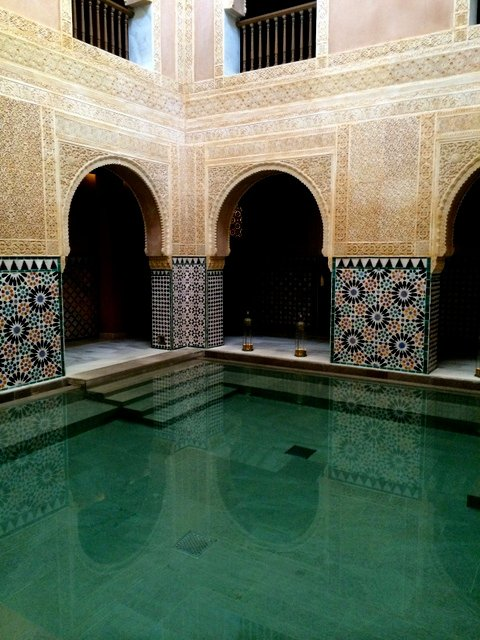 The Hammam Al Andalus, a relaxing plan for Valentine's Day in Málaga.