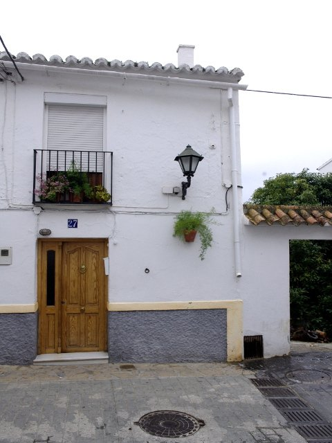Una casa en Carratraca, Málaga