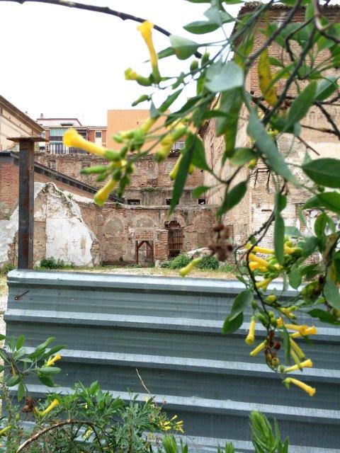 Las antiguas paredes del Convento de San Andrés en El Perchel, Málaga