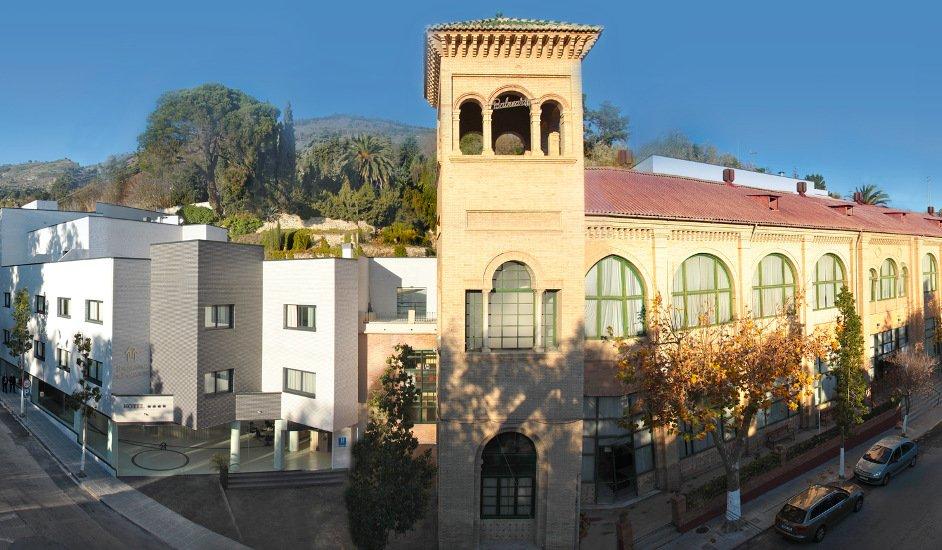 Panorámica del Balneario de Lanjarón