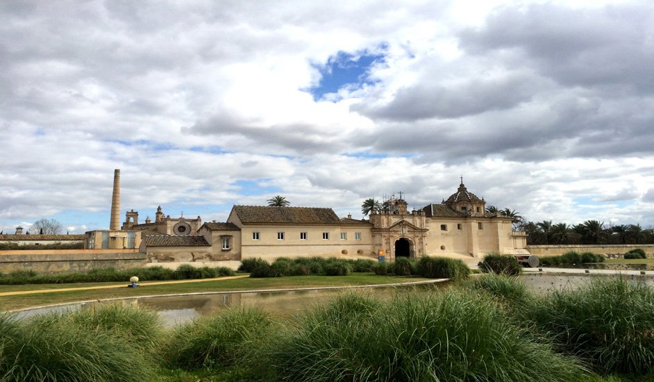 Monasterio de la Cartuja transformado en el CAAC Sevilla