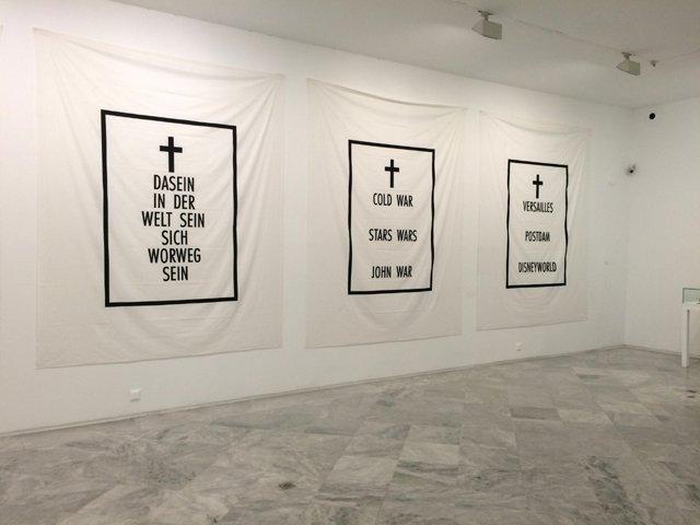 Obras de Agustín Parejo School, grupo de artistas malagueños en el CAAC Sevilla