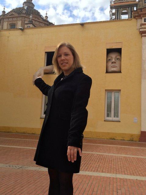 Abby en el CAAC Sevilla