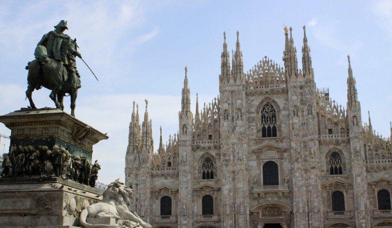 Duomo in Milan, an impressive architectural work