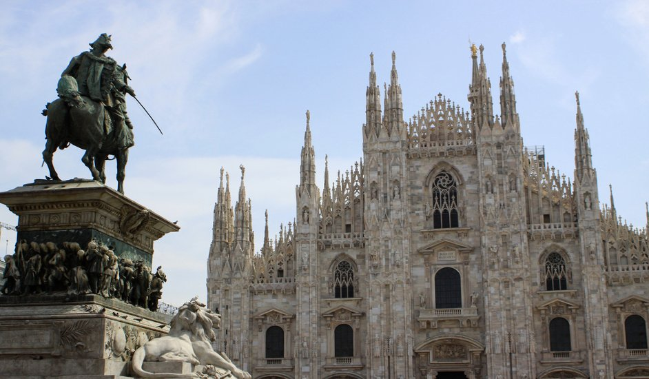 Duomo in Milan, an impressive architectural work