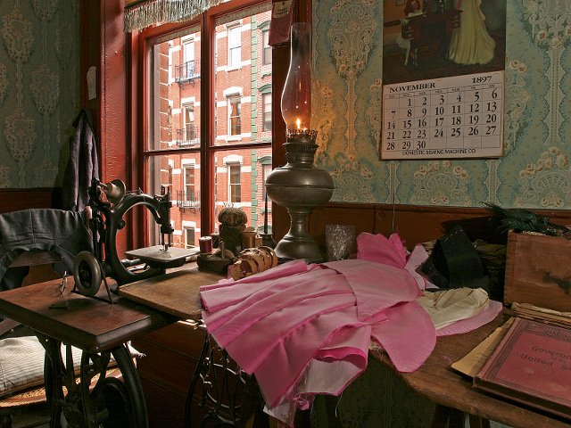 Levine Parlor of the Lower East Side Tenement Museum Tour
