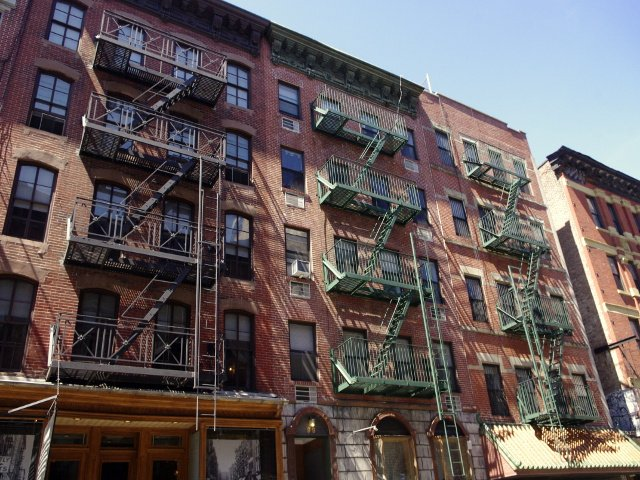 Tenements of the Lower East Side Orchard Street