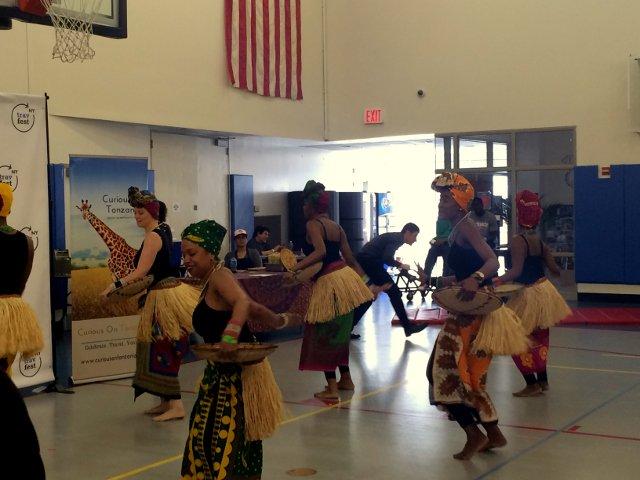 Baile africano en el New York Travel Festival 2016