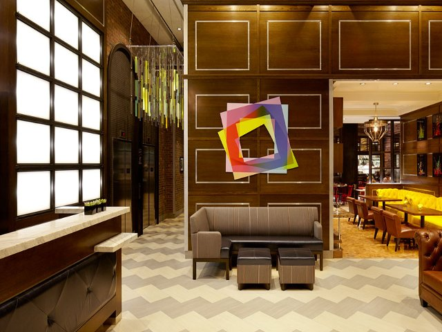 Lobby of the Hotel Archer