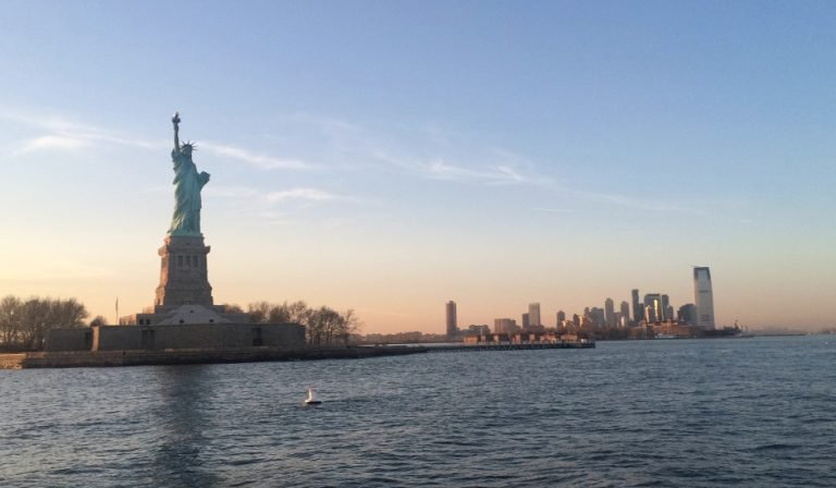 The views of Manhattan and the Statue of Liberty from the Classic Harbor Line Cruise