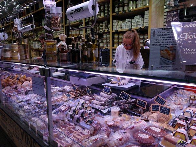 Foie Gras Counter Victor Hugo Market