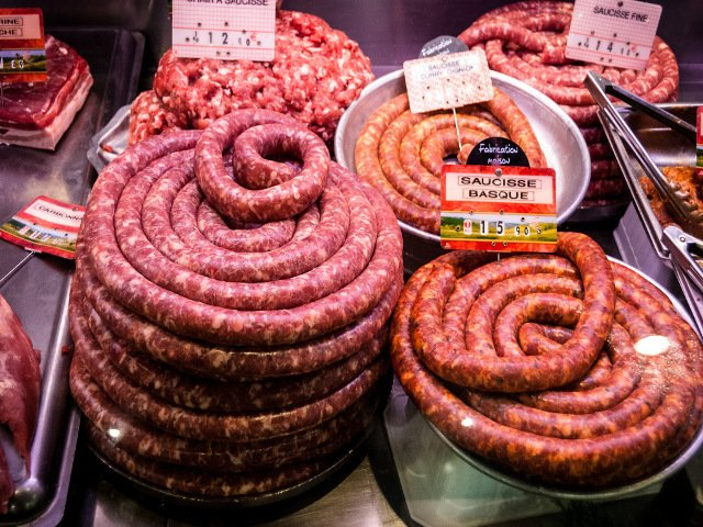 Sausage at the Market Toulouse