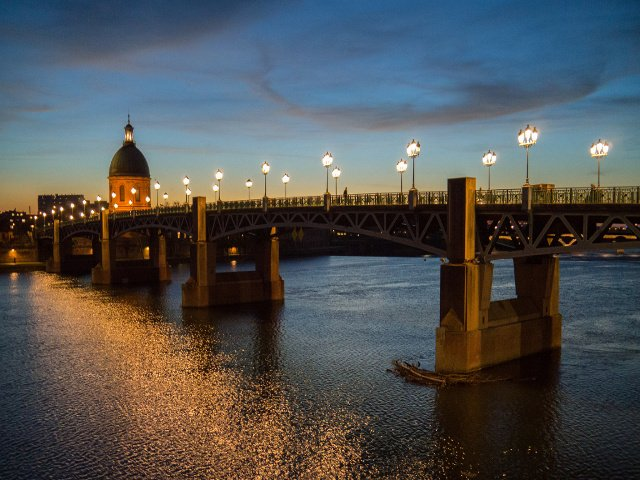 Puesto del sol Toulouse