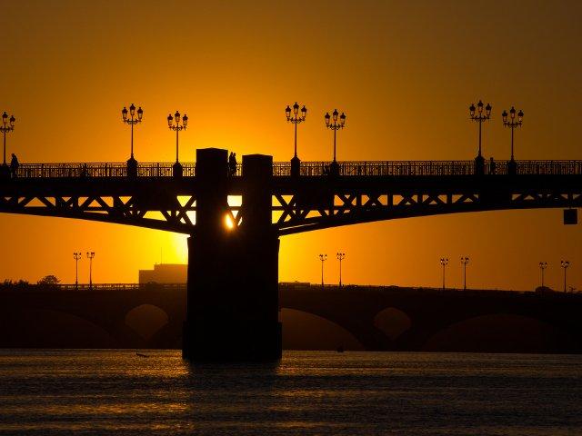Toulouse Puesto del sol
