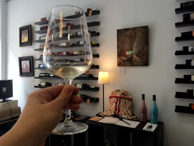 Tasting Malaga wines with Devour Malaga Food Tours