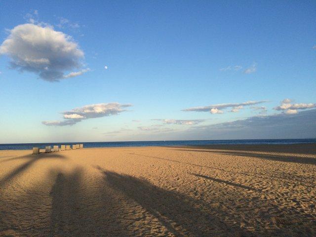 The Beach in Empuriabrava