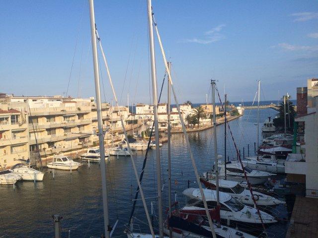 Vistas desde Pierre et Vacances Empuriabrava Marina