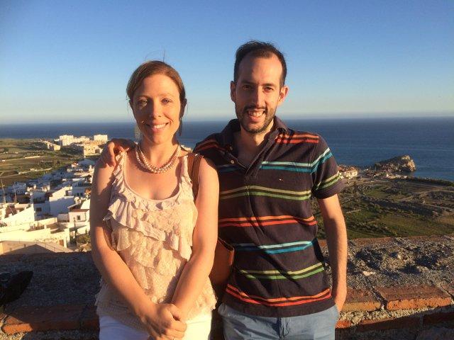 Las vistas desde el Castillo de Salobreña