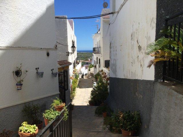 Las calles de Salobreña