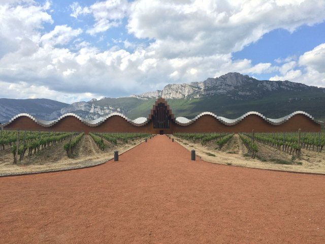 The incredible architecture of Bodegas Ysios with Thabuca Wine Tours