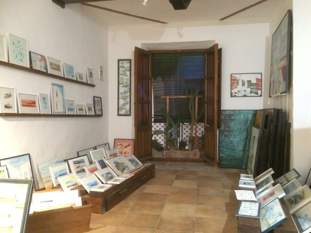 Art Gallery in Salobreña