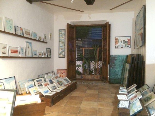 Galería de arte en Salobreña