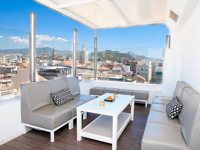 Terraza Hotel Soho Bahia Málaga