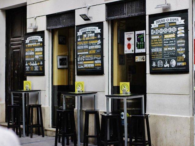 Un sitio hipster en Málaga es Drunk-o-Rama