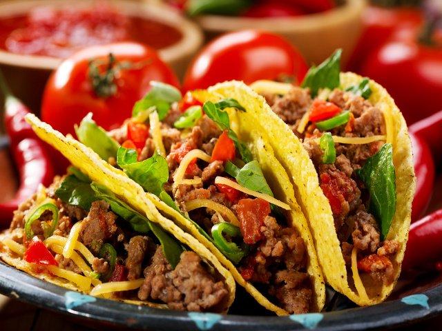 Tacos, como parte de la cocina mexicana