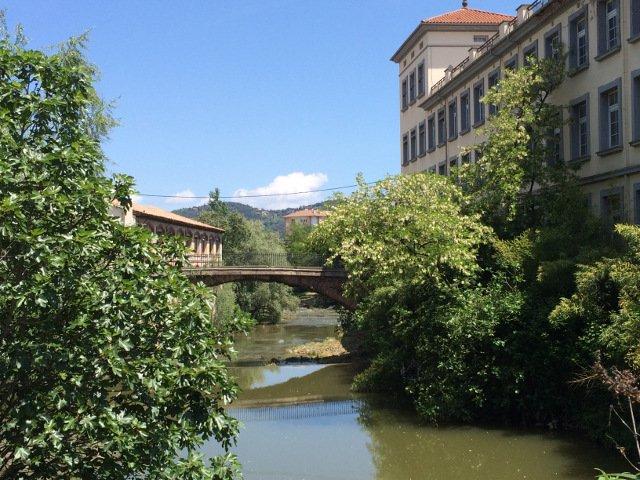 El río de Olot La Garrotxa