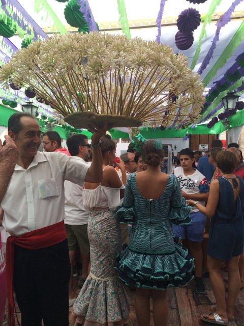 La Feria de Málaga en el centro histórico