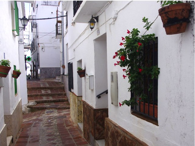 Visit to nearby Comares for a Staycation