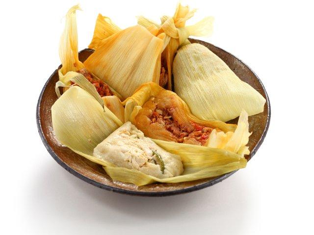 Tamales, una comida mexicana muy típica