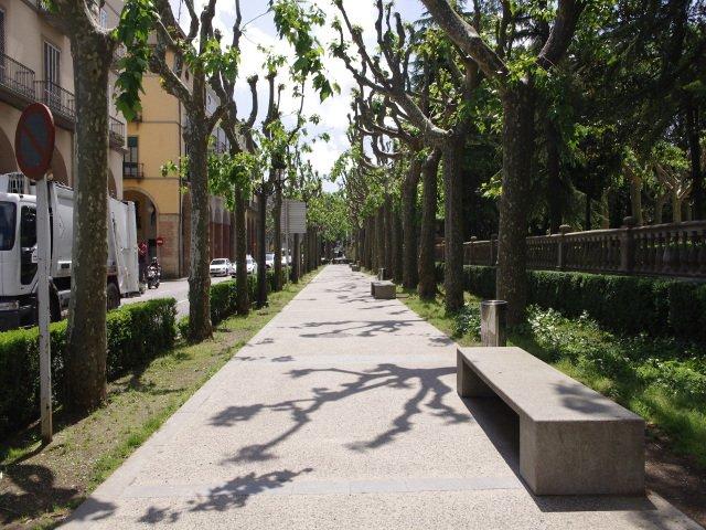 Paseo por Olot La Garrotxa