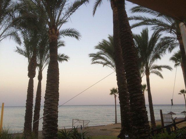 Puesta de sol en Kempinski Hotel Bahía Estepona durante la noche del Ronqueo del Atún