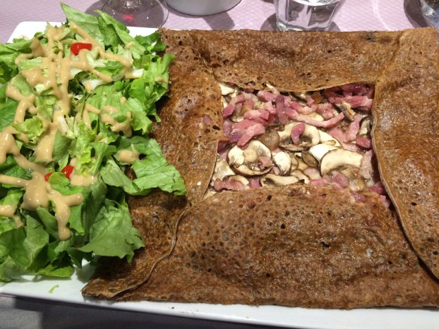 Crepe con jamón Le Grenier de Pepe Toulouse